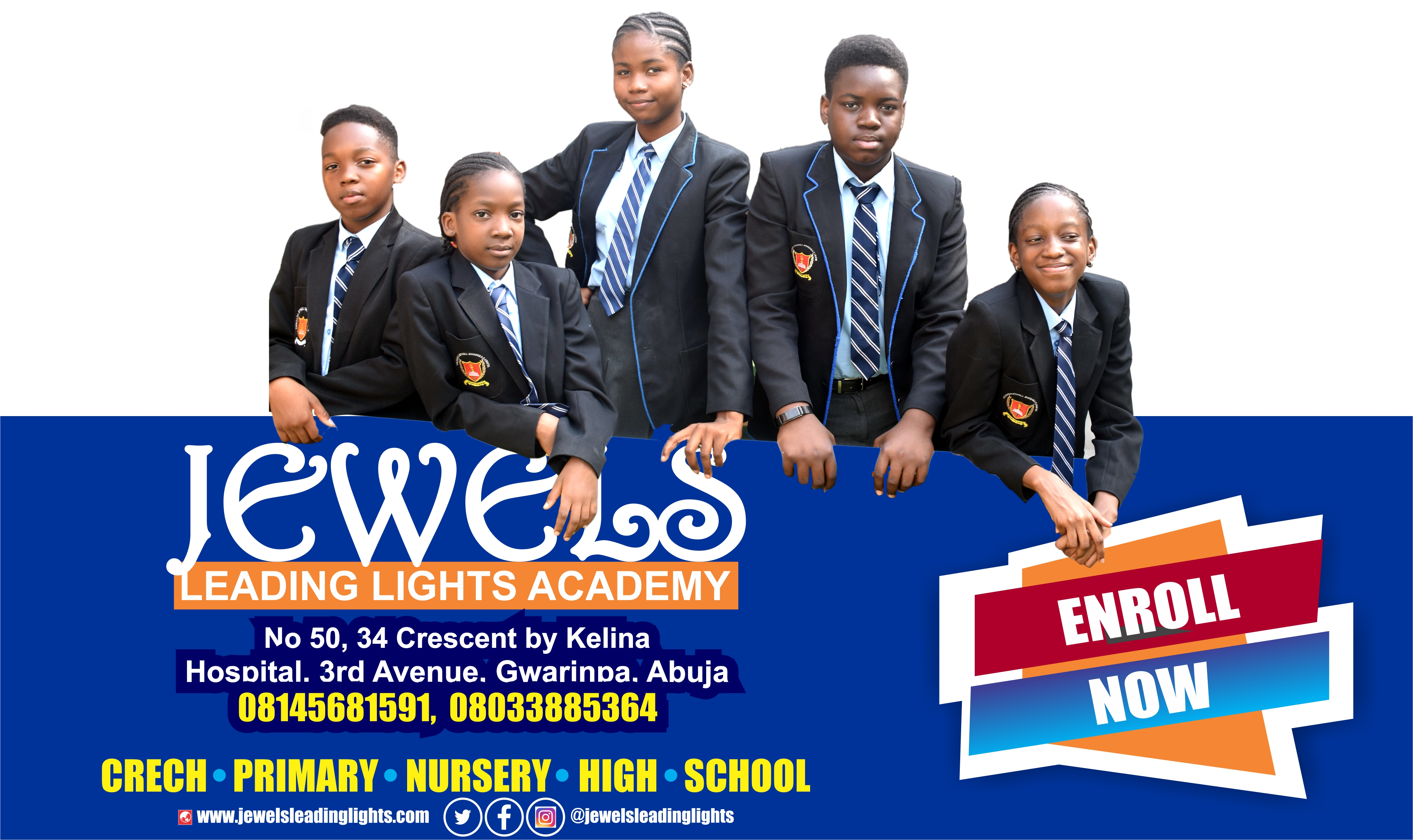 Admission in Progress. Enroll Now!!!